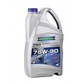 Трансмиссионное масло RAVENOL  Getriebeoel TGO SAE 75W-90 API GL 5 (4л)