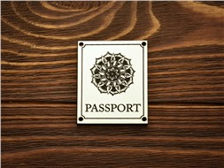 """Шильдик Passport """"Мандала"""""""