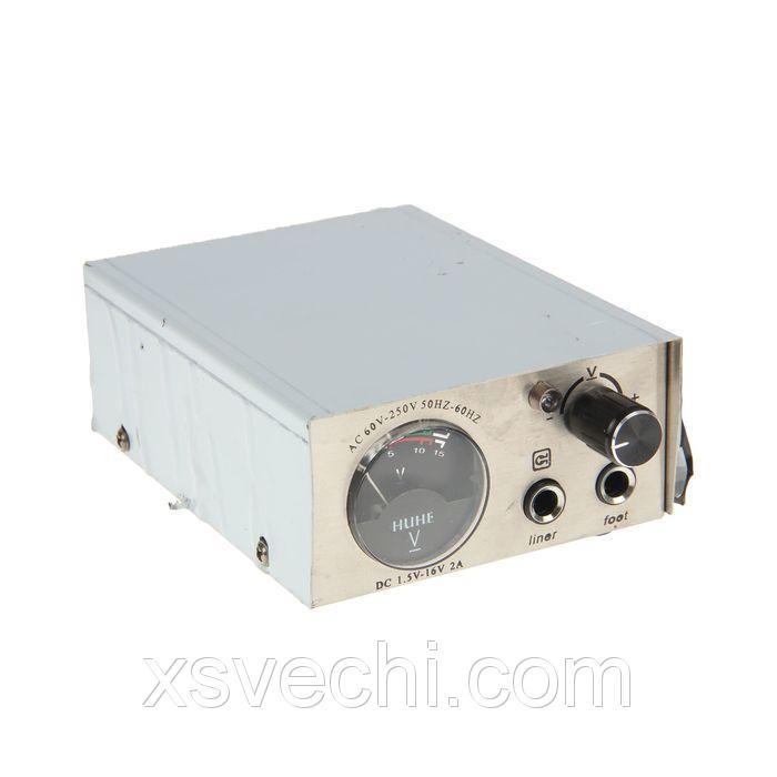 Блок питания для тату-машинки, 16V/2А, 50-60Гц, без кабеля