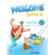 welcome starter b teacher's book - книга для учителя (with posters)