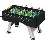Настольный футбол (кикер) «Porturin» (140x74x89 см, серебристо-черный), интернет-магазин товаров для бильярда Play-billiard.ru