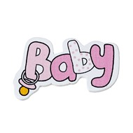 Декоративный элемент Baby розовый