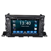 Штатное головное устройство DAYSTAR DS-7094HD для Toyota Highlander 2014+ ANDROID 4.4.2