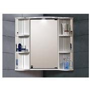шкаф для ванны зеркальный угловой Классик 60х60х75 с подсветкой