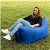 Надувное кресло-лежак Ламзак с карманами LAMZAC Россия васильковый
