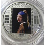 Девушка Вермеер тираж: 1665