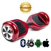 Гироскутер Hoverbot A3 Premium красный (приложение + Bluetooth-музыка + сумка)