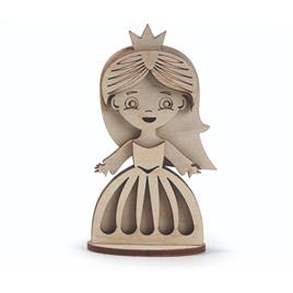 Lemmo Конструктор 3D деревянный Lemmo Маленькая принцесса