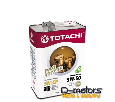 TOTACHI GRAND RACING 5W-50 (4л.)