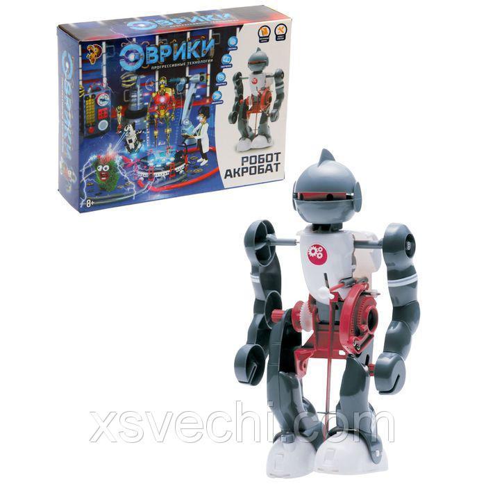 """Конструктор-робот """"Акробат"""", ходит, работает от батареек"""