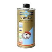 Тормозная жидкость RAVENOL DOT 5.1, (1л)