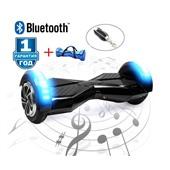 Гироскутер Smart Balance 8 дюймов Transformers LED - черный+синий