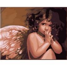 "Картина для рисования по номерам ""Ангел. Нэнси Ноэль"" арт. GX 6269 m"