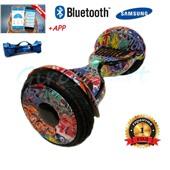 Гироскутер Smart balance wheel 10.5 new Premium Граффити красный