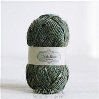 Пряжа Lama Tweed Павлин 6448, 100м/50г, CaMaRose, Pafugl
