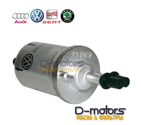 Фильтр топливный VAG 6Q0201051J для VW POLO седан, 1.6 (85, 105 л.с.)