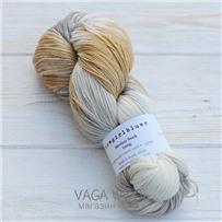 Пряжа Merino Sock multicolor карамель/песок/натураль/серебряная лиса, 320м/100г, Cowgirlblues