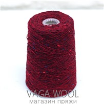 Пряжа Твид Soft Donegal Шиповник 5524, 190м в 50 г. Knoll Yarns, Abbert