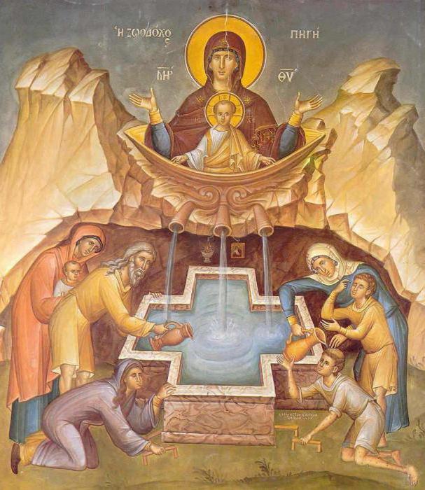 Икона Божьей Матери «Живоносный источник»