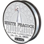 Леска Balsax White Peacock Fluorocarbon 100м 0,10