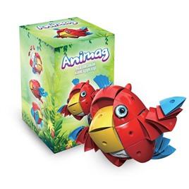 Animag Конструктор детский магнитный Animag Попугай