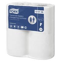 Туалетная бумага Tork в стандартных рулонах 120158