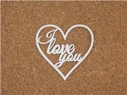 Сердечко I love you