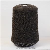 Пряжа Твид-мохер Фундук 2607, 110м/50гр. Knoll Yarns, Mohair Tweed, Chestnut