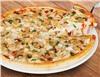 Большая пицца с грибами