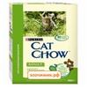 Сухой корм Cat Chow для кошек (взрослых) кролик+печень (400г)