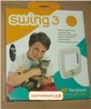 "Дверь Ferplast ""Swing 1"" (21.5*24) коричневая для кошек"
