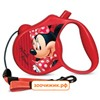 """Рулетка Triol-Disney WD1003  """"Minnie"""" трос 3м до 12кг S"""