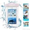 Чехол водонепроницаемый светящийся для мобильных телефонов белый