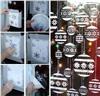 Новогодние трафареты 44 рисунка