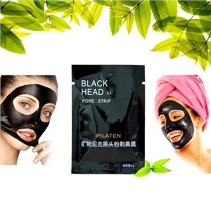 Маска от черных точек на лице Black Head BioAqua