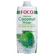кокосовая вода FOCO 0.5л Тetra Paсk упаковка - 12 шт
