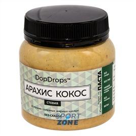 Паста DopDrops Арахис Кокос 250г (стевия)