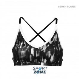 Спортивный бюстгальтер Better bodies Manhattan shor top, черно-белый