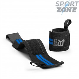 Напульсники Better Bodies Elastic Wrist Wraps, Black/Blue