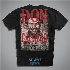 Мужская футболка US ESCOBAR BLACK UNCLE SAM
