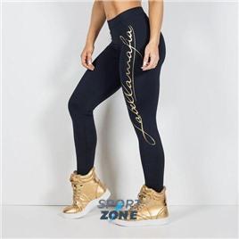 Женские леггинсы Pro Athlete Black and Gold