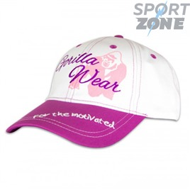 Кепка GORILLA WEAR LADY SIGNATURE CAP WHITE/PINK