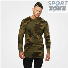 Кофта с длинным рукавом Better Bodies Bronx longsleeve, Military camo