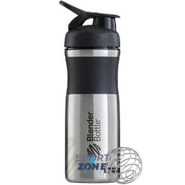 SportMixer Stainless 828мл Black/black [черный/черный] из нержавеющей стали