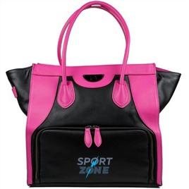 Женская сумка SIX PACK FITNESS (SPF) Victoria Elite Tote Black/Pink  (черный/розовый)