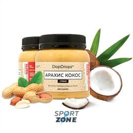 Протеиновая паста DopDrops Арахис Кокос 250г (стевия)