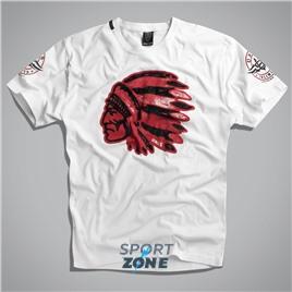Мужская футболка US CHEROKEE WHITE UNCLE SAM