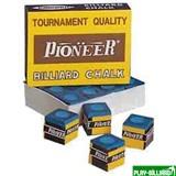 """Мел """"Pioner"""" (12 шт) синий, интернет-магазин товаров для бильярда Play-billiard.ru"""