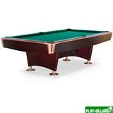 "Бильярдный стол для пула ""Reno"" 9 ф (махагон), интернет-магазин товаров для бильярда Play-billiard.ru"