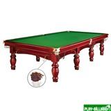 Weekend Бильярдный стол для русского бильярда «Dynamic Refinement» 12 ф (махагон), интернет-магазин товаров для бильярда Play-billiard.ru
